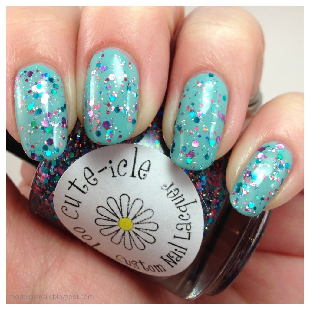China Glaze For Audrey and Too Cute-icle Pretty Pretty Princess