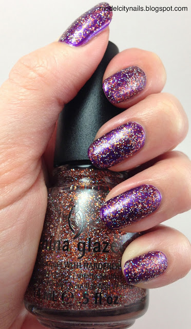 Julep Morgan and China Glaze Glitter Goblin
