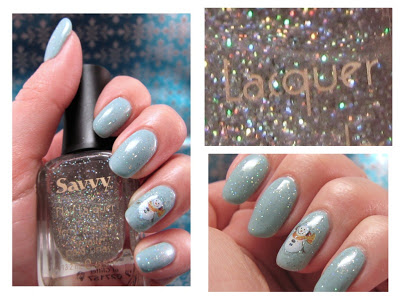 My First Set of Holiday Nails and Giveaway from Joby