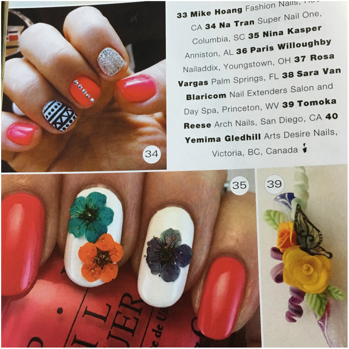 My Nails In Print