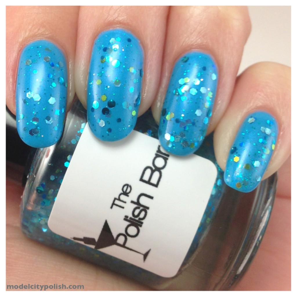 Orly Skinny Dip and The Polish Bar Oceanic