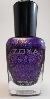 Zoya Mimi and Finger Paints Motley