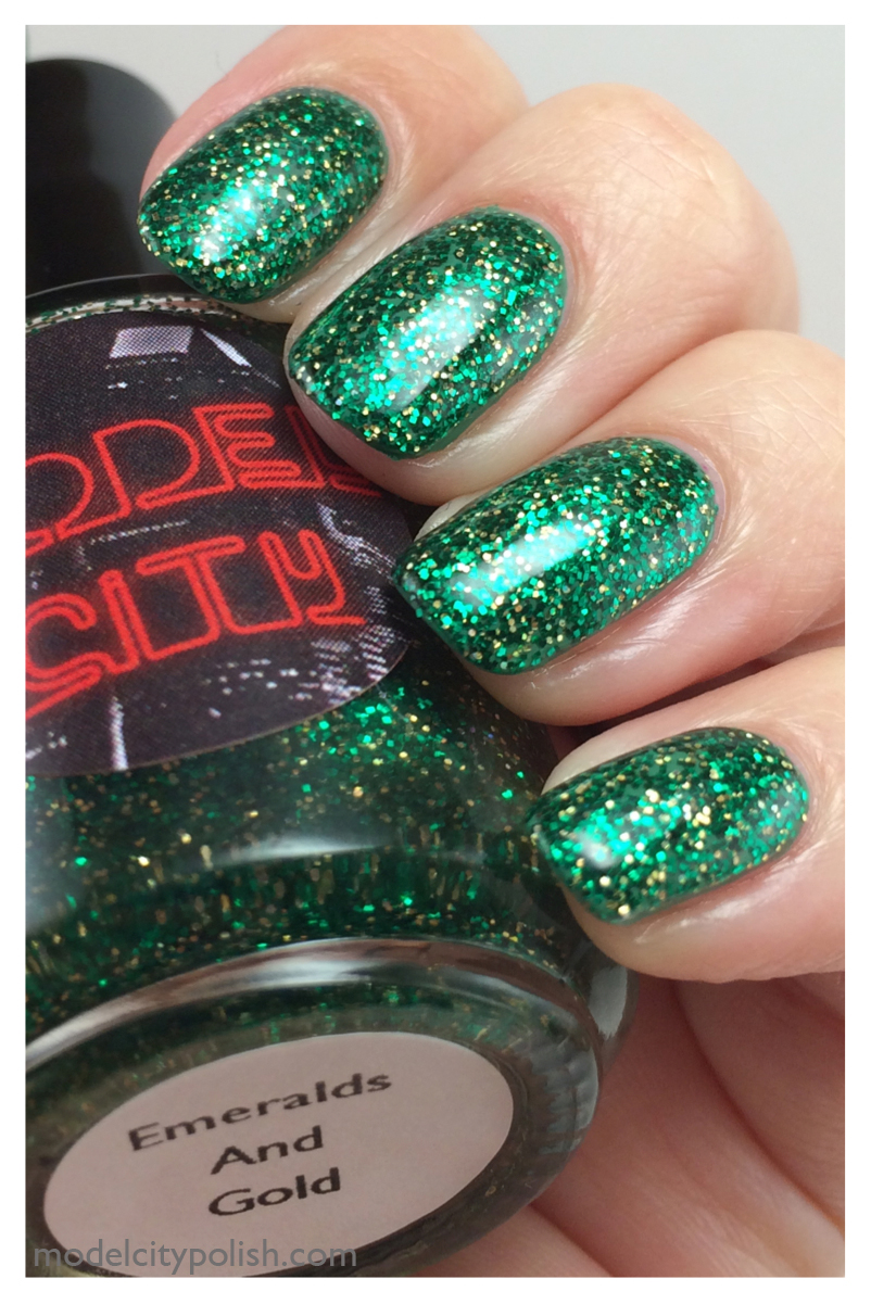 Emeralds & Gold 5
