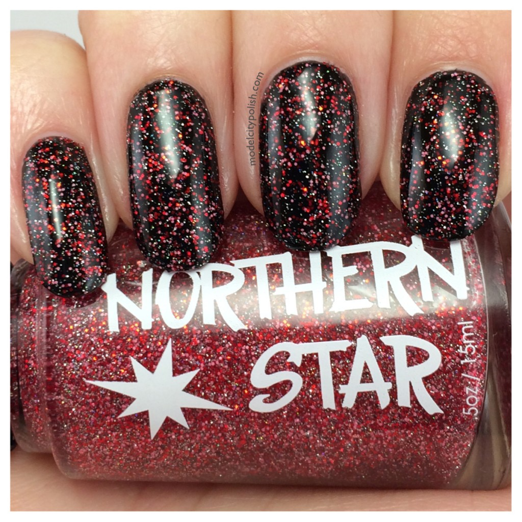 Northern Star Polish Berry Much In Love, Bittersweet, and Doctor Yum Cuticle Oil