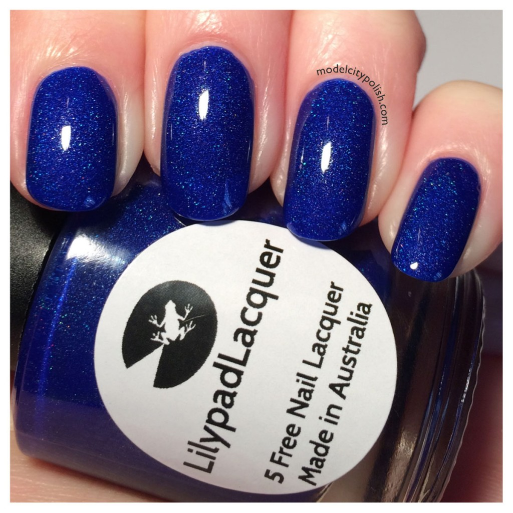 Lilypad Lacquer A Balt Out Of The Blue