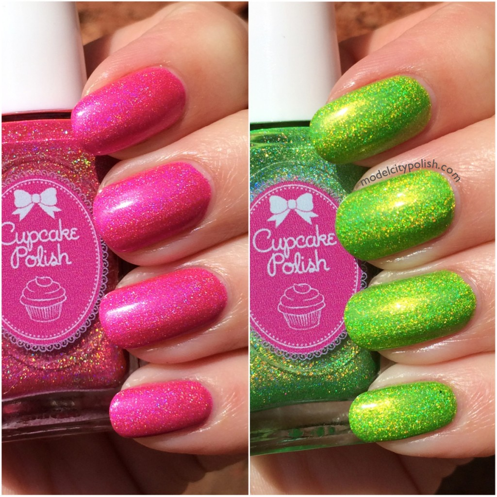 Cupcake Polish It is Not What You Pink & It is Our Slime Now