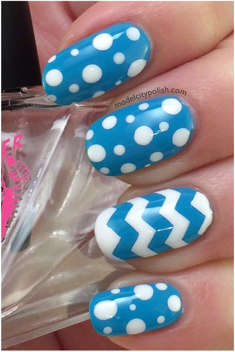 Blue Nails 2