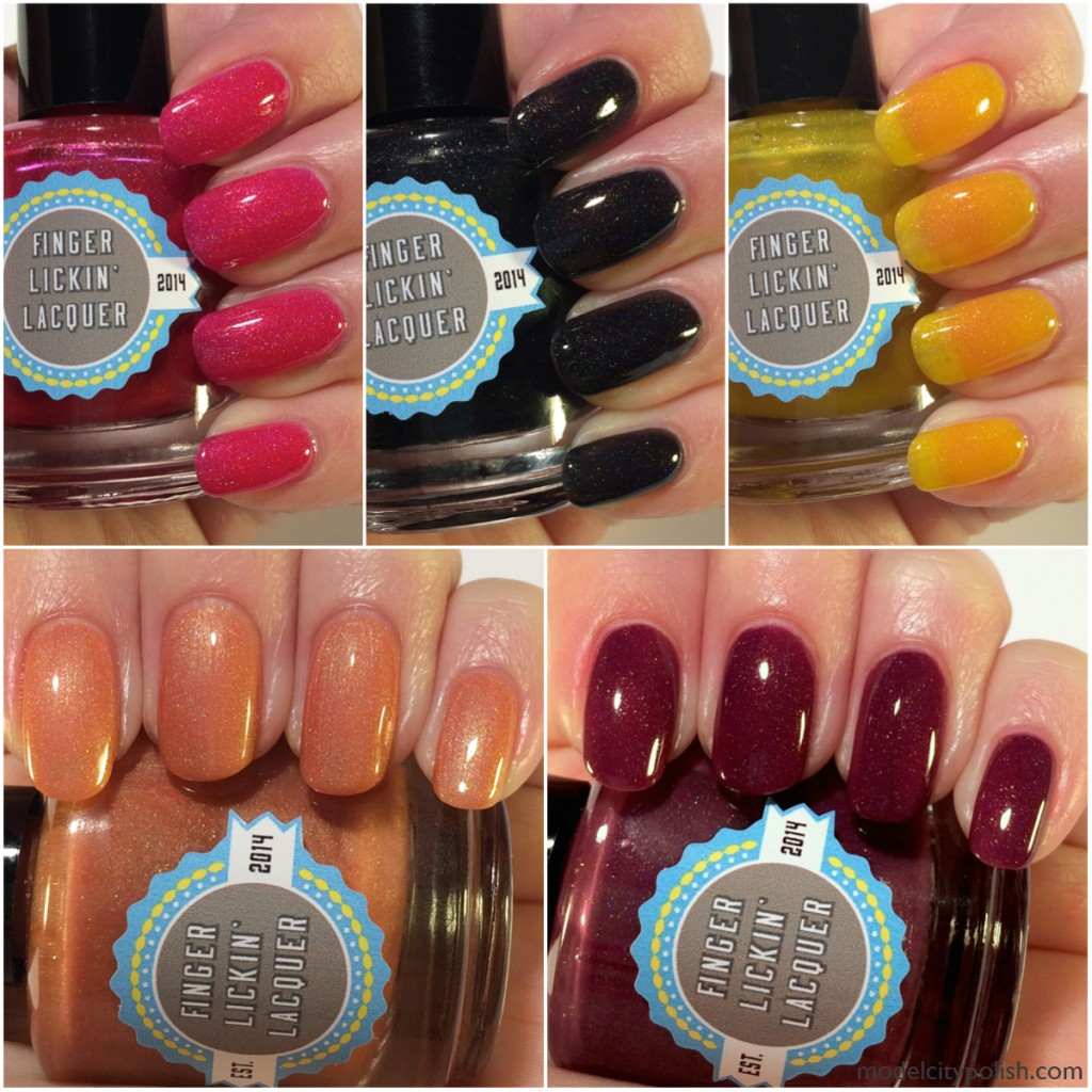 Finger Lickin' Lacquer Fall for FLL Collection Part 1