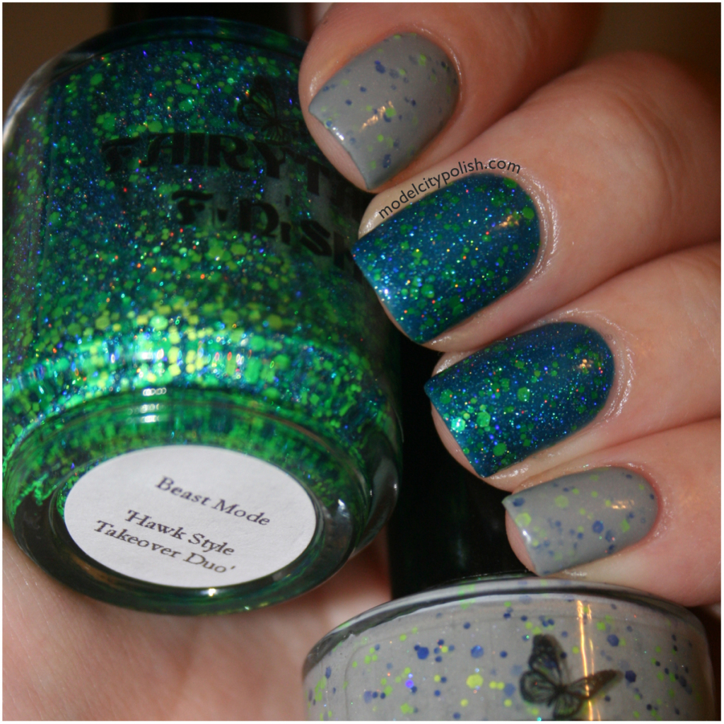 Pacific NW Polish Addicts Polish Party and Fairytale Finish Hawk Style Takeover Duo