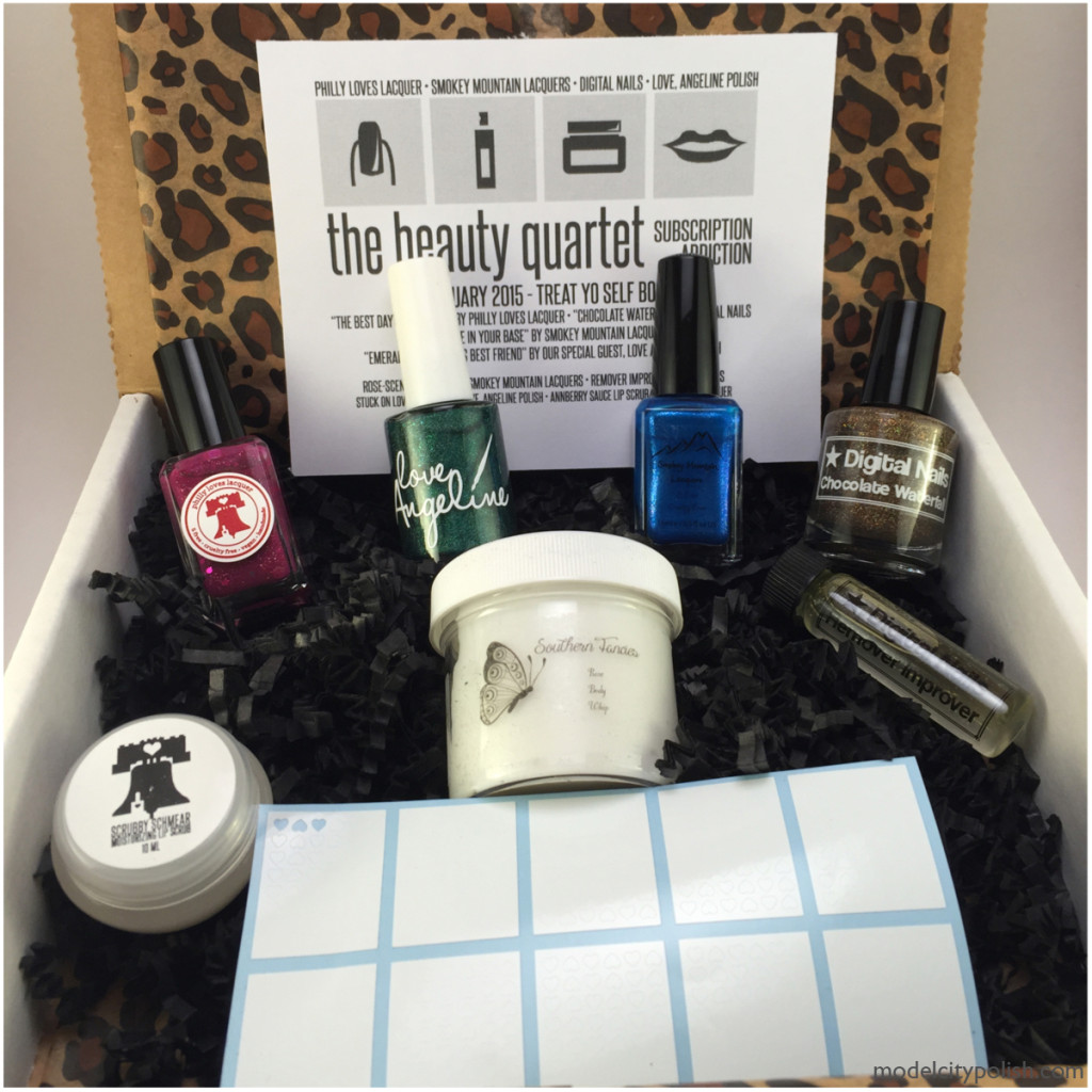 The Beauty Quartet February 2015