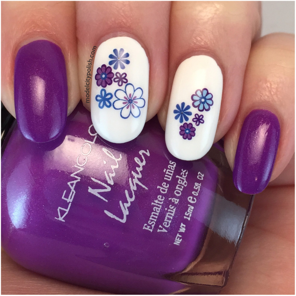 Born Pretty Motif Flower Water Decals