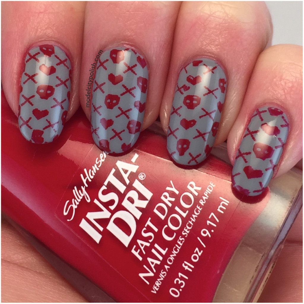 Anti-Valentine Manicure