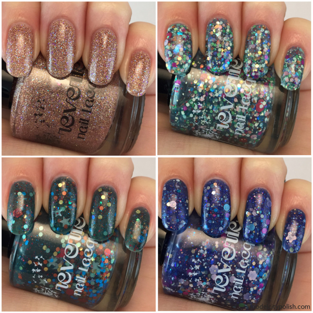 Reverie Nail Lacquer Spring Collection 2015 Part 2 and Limited Edition Blend