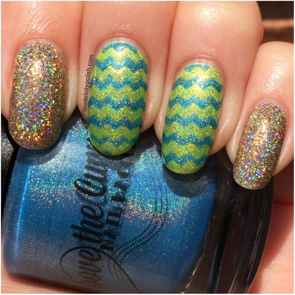 Chevrons and Glitter