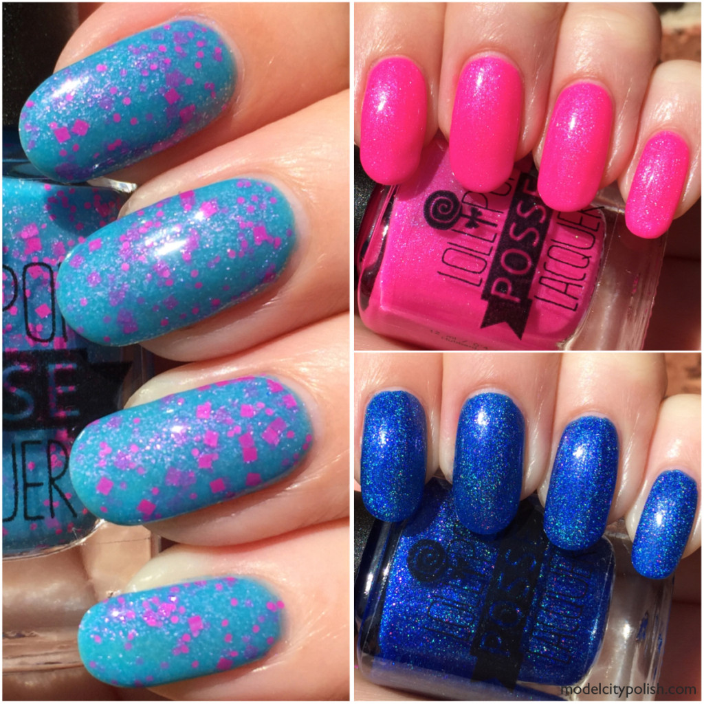 The Dancing Girl Collection by Lollipop Posse Lacquer Part 1