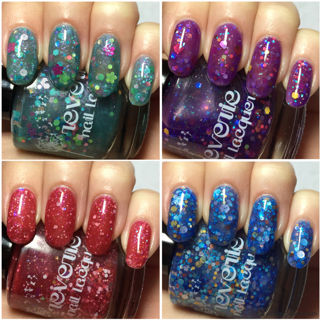 Reverie Nail Lacquer Jelly Trio and a new LE