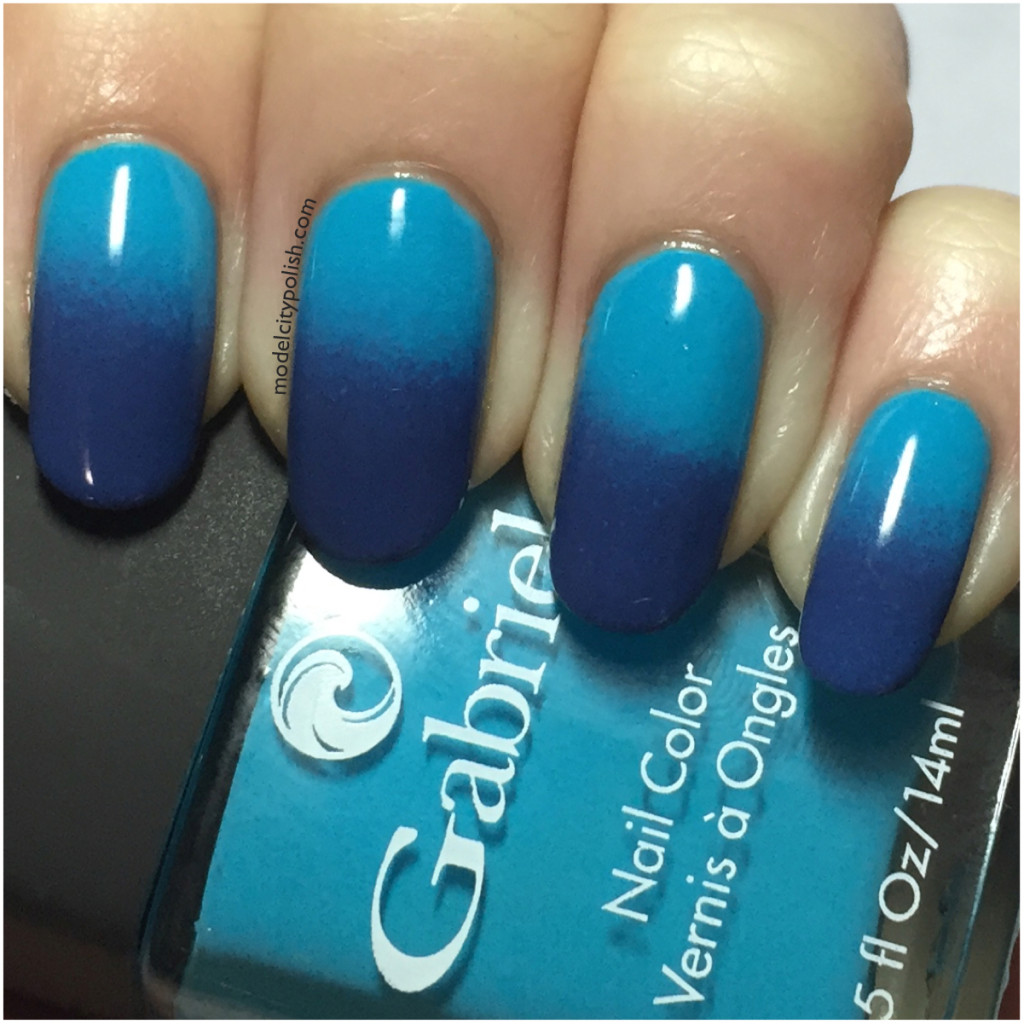 Blue Gradient with Gabriel Cosmetics
