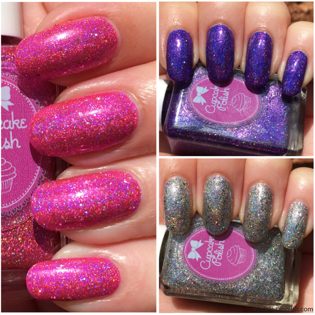 Las Vegas Showgirl Collection by Cupcake Polish