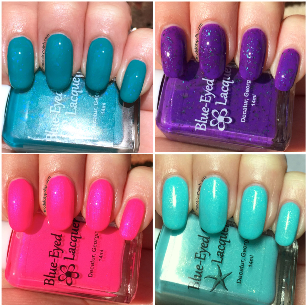 Leave the Sun Behind Me and new Siren Series LE by Blue-Eyed Girl Lacquer – Part 2