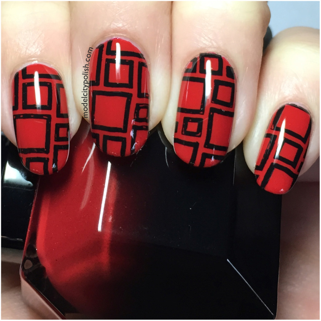 Red & Black Block
