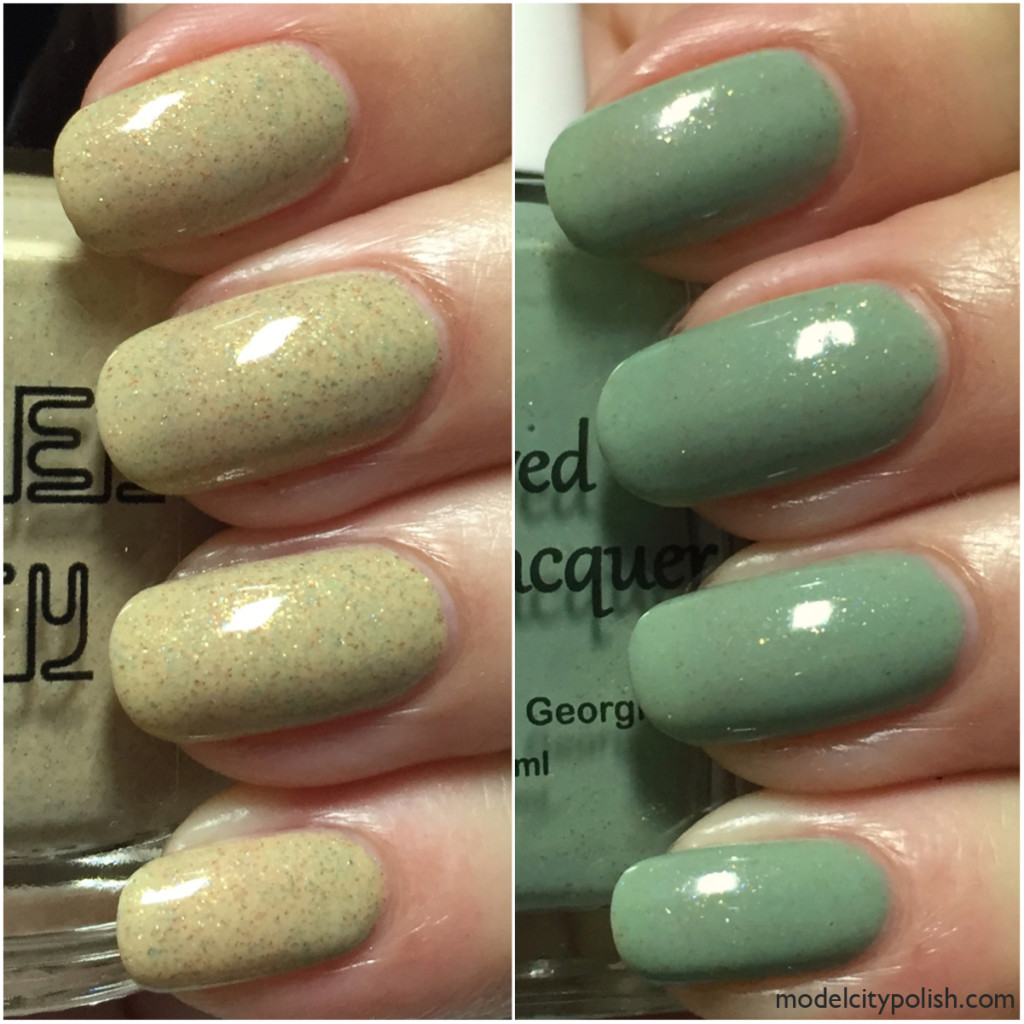 Destination Duo by Blue-Eyed Girl Lacquer and Model City Polish