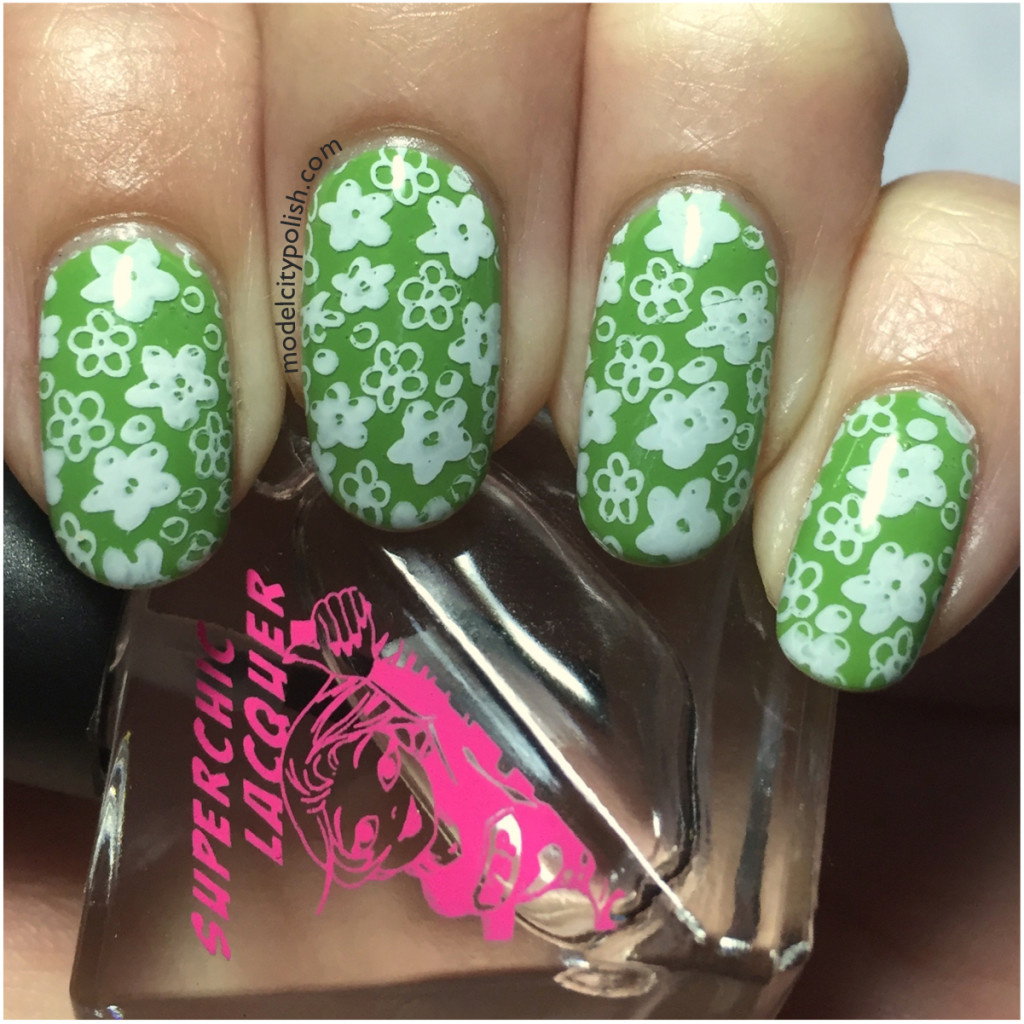 Spring Blossom with Vivid Lacquer