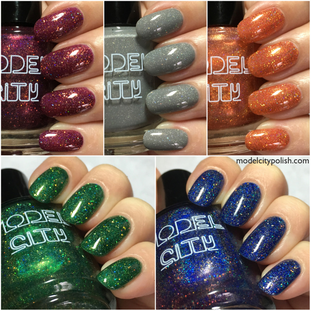 Fall Collection 2015 by Model City Polish
