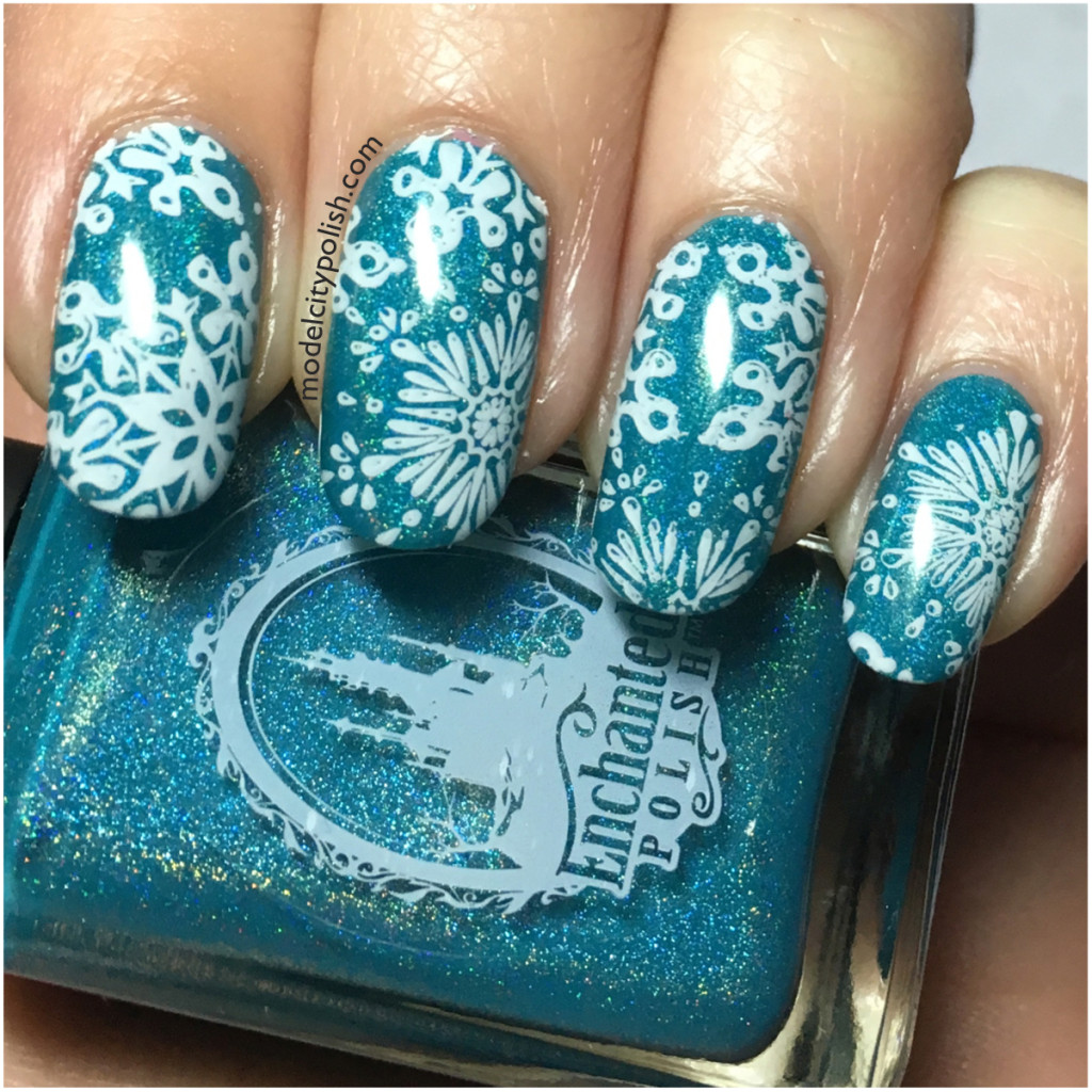 Snow Day – Challenge Your Nail Art