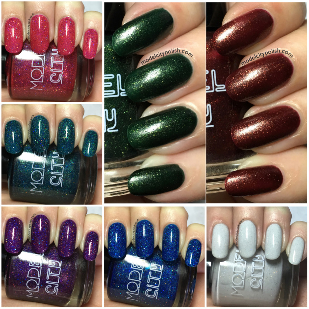 Winter Collection 2015 and December Single Batch by Model City Polish
