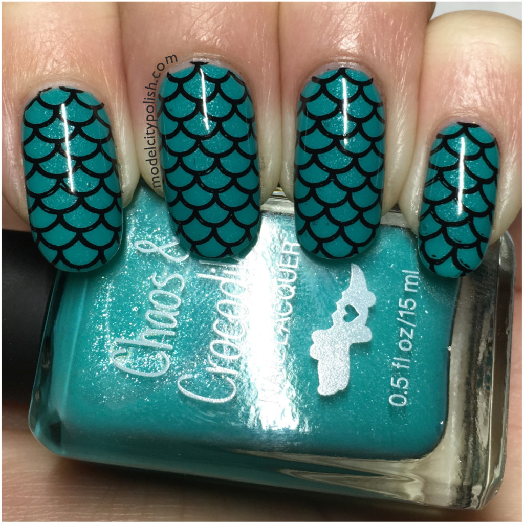 Mermaid Nails with Chaos & Crocodiles