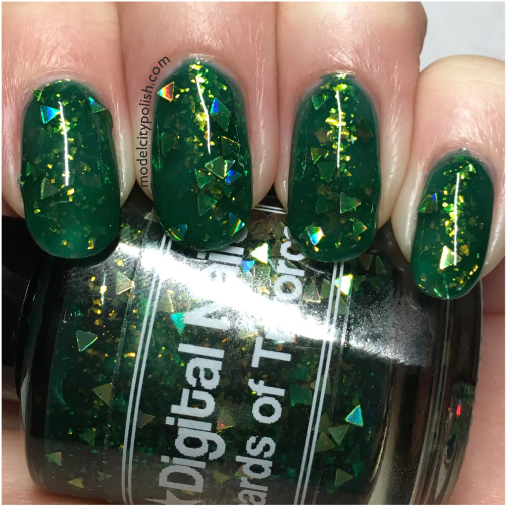 Shards of Triforce by Digital Nails