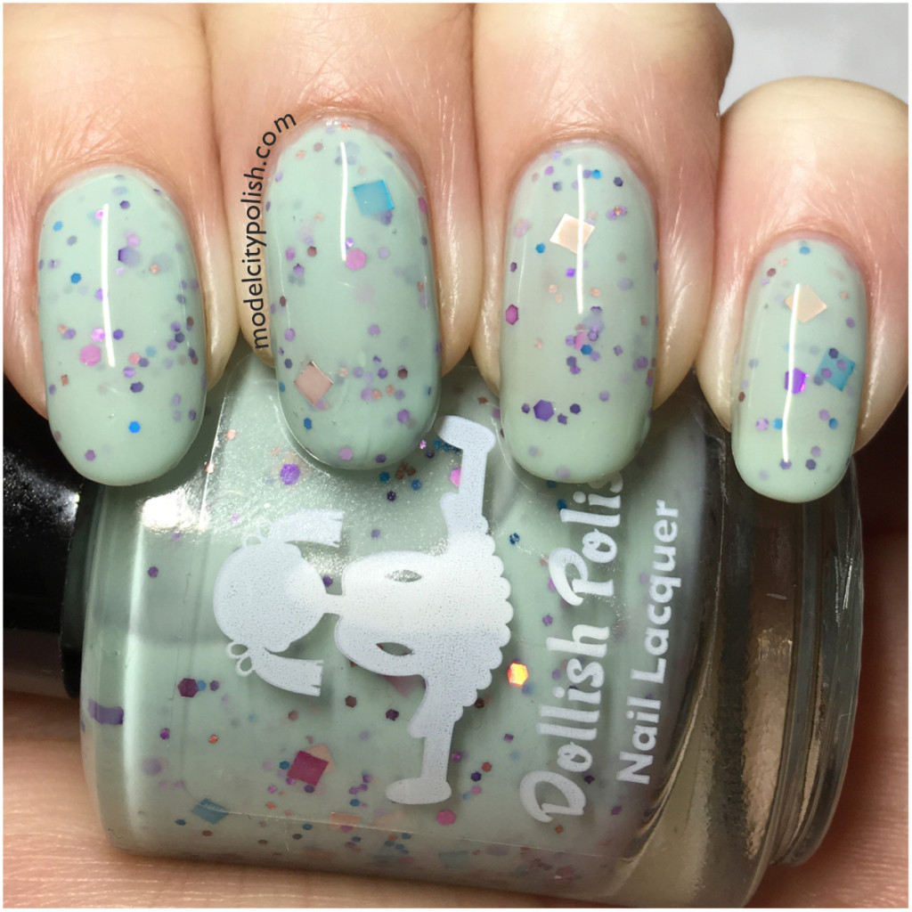 Sweet Dreams Are Made of Glitter by Dollish Polish