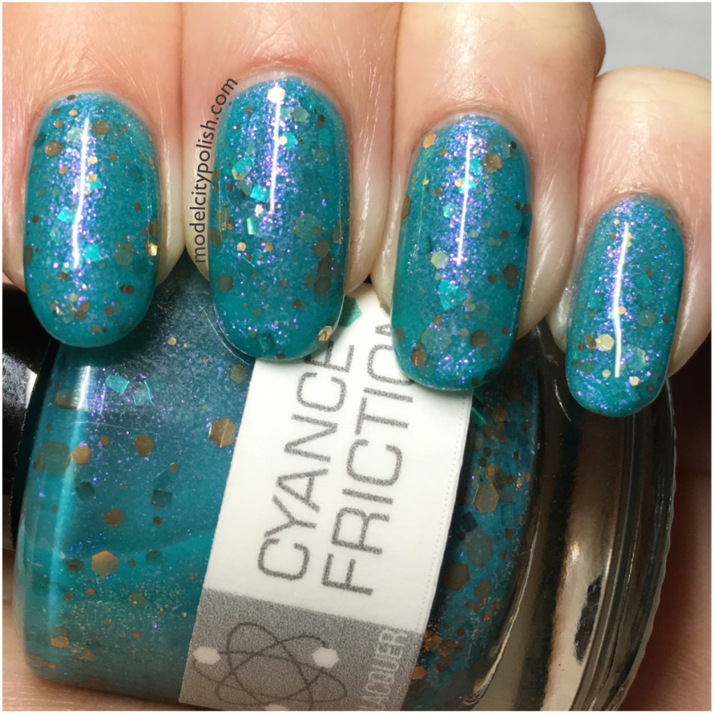 Cyance Friction by NerdLacquer
