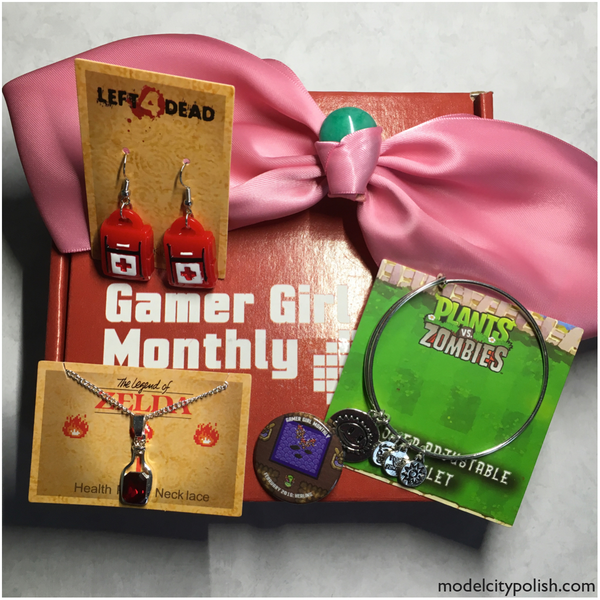 February 2016 Gamer Girl Monthly