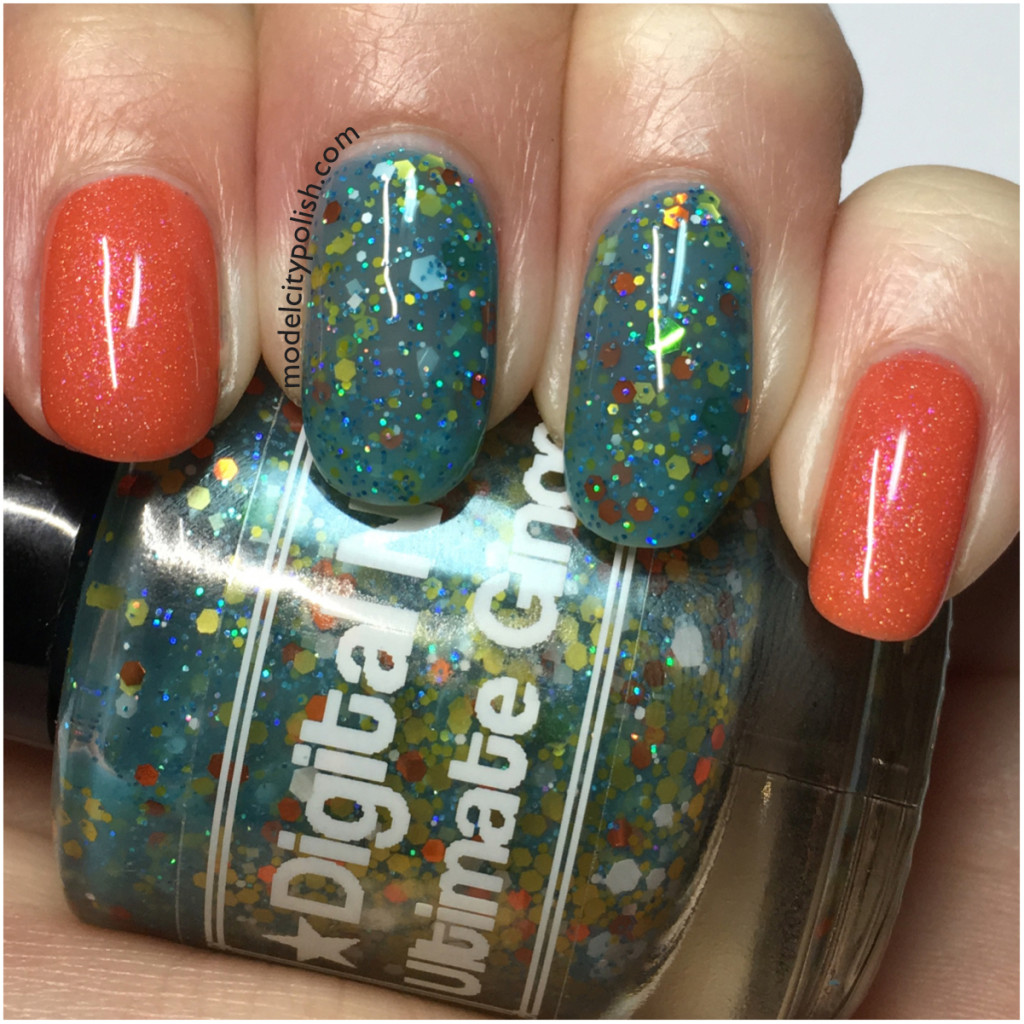 Two for Tuesday – Digital Nails and Enchanted Polish