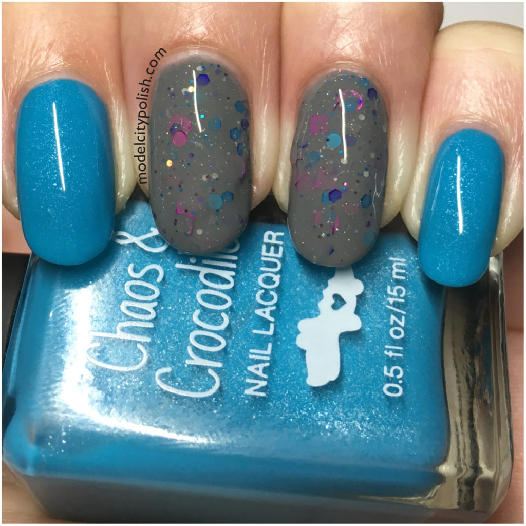 Two for Tuesday – Chaos & Crocodiles and KBShimmer