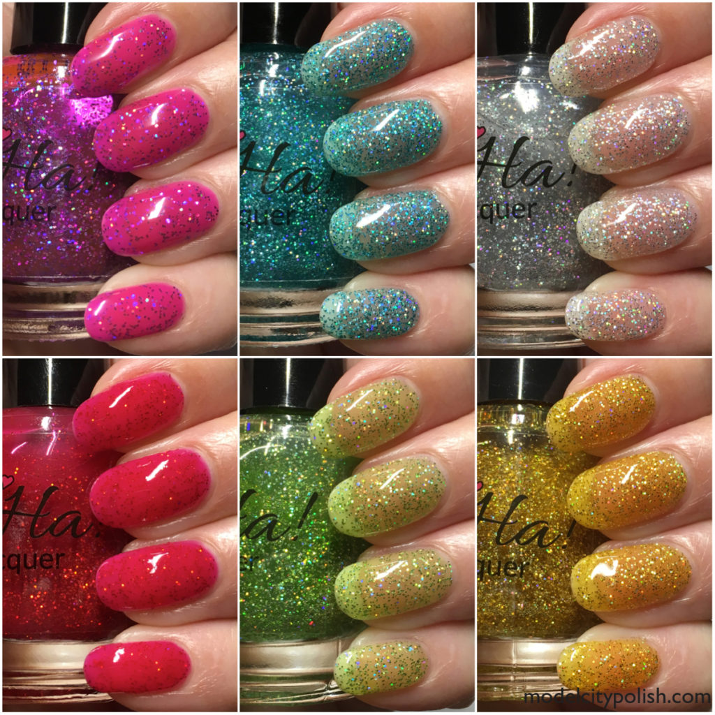 Glitter Collection by Ah Ha! Nail Lacquer