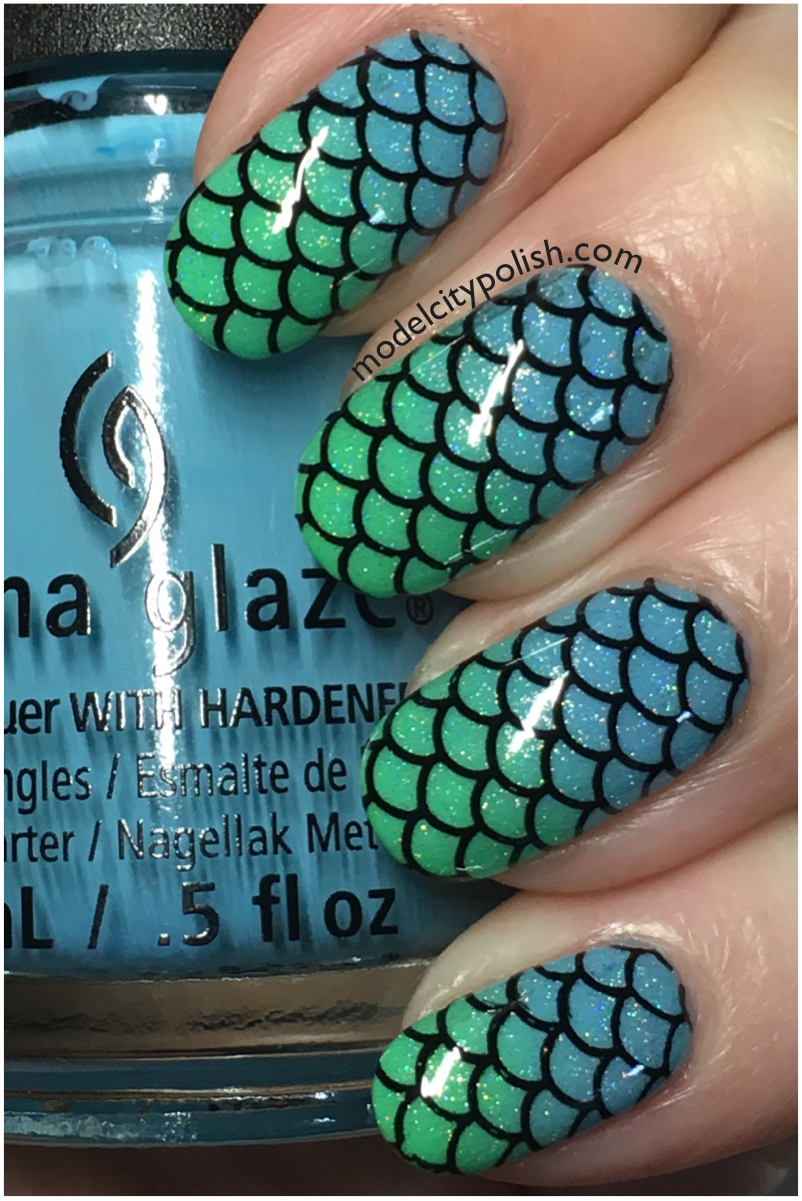 China Glaze Mermaid 2
