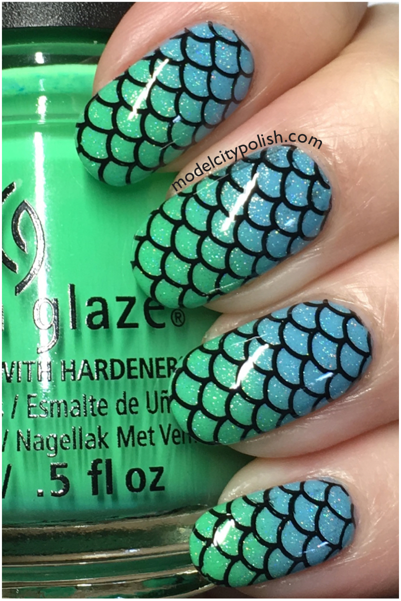 China Glaze Mermaid 5