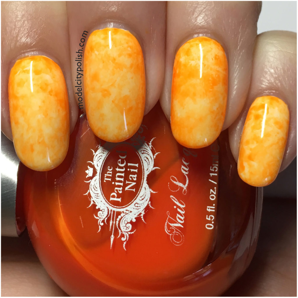 Creamsicle Nails
