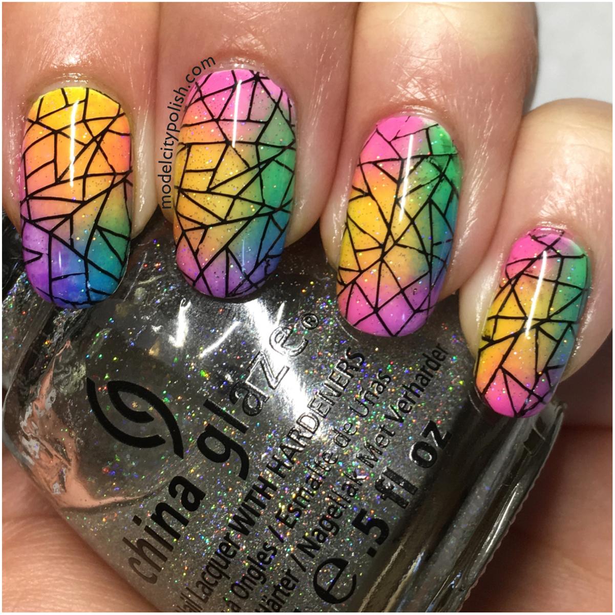 Rainbow Nails 5