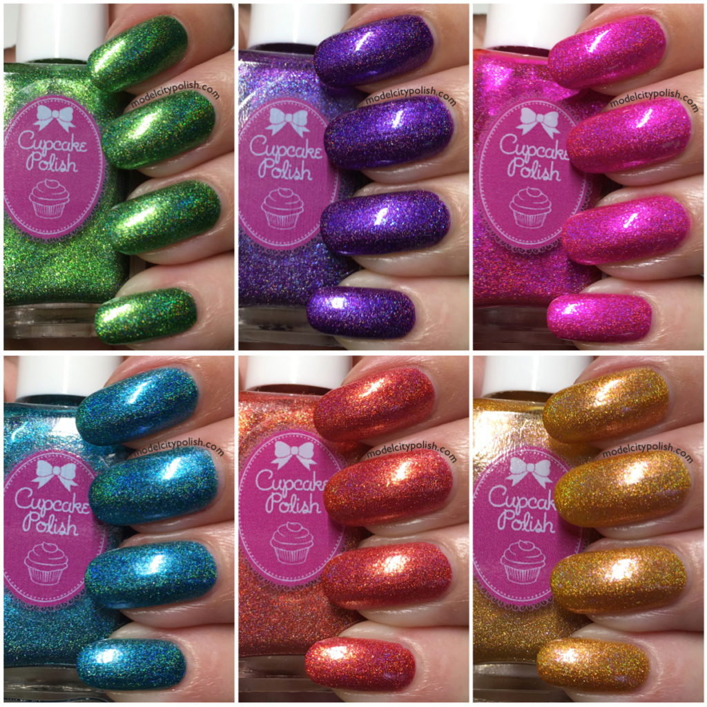 The Luau Collection by Cupcake Polish