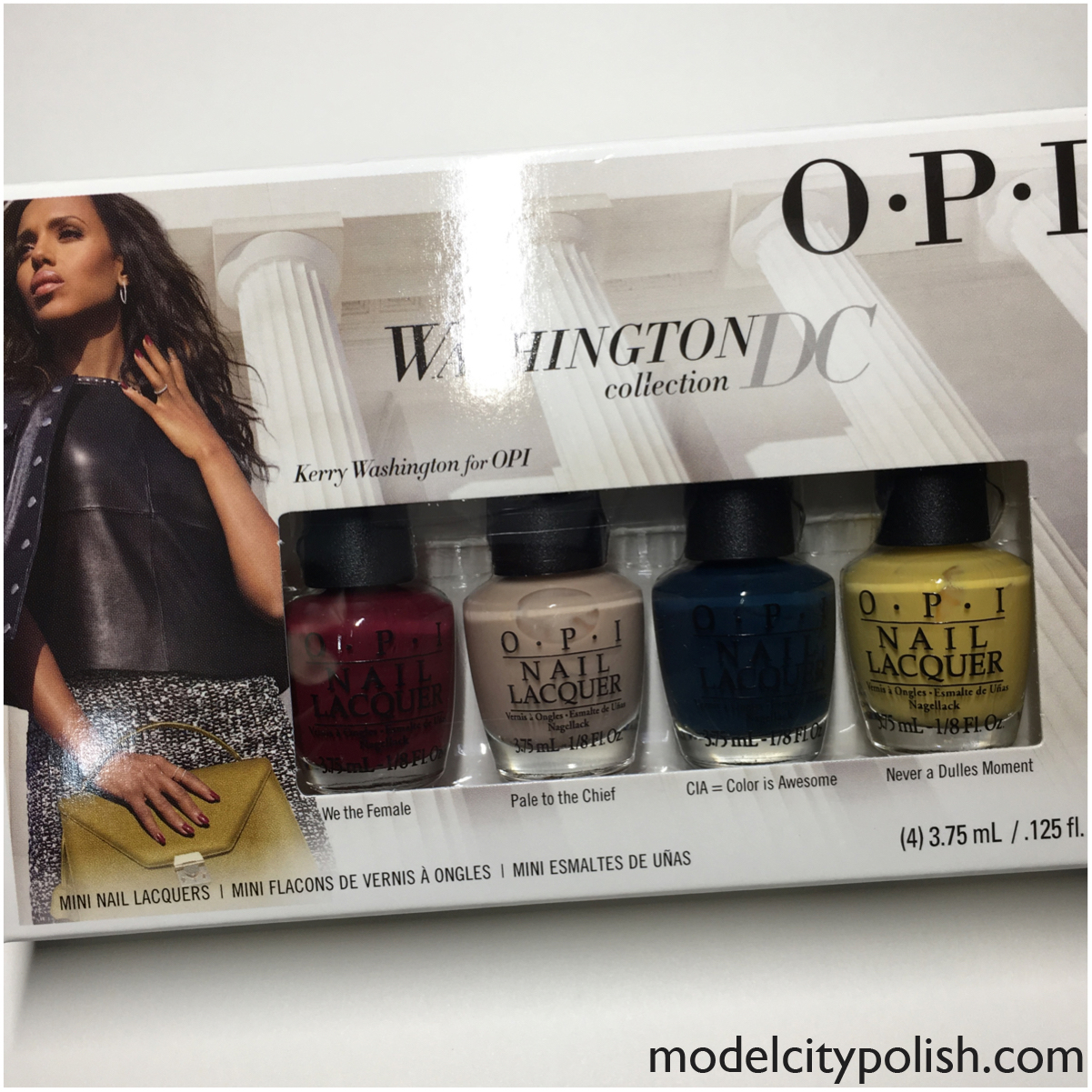 Washington DC Collection by OPI and Giveaway