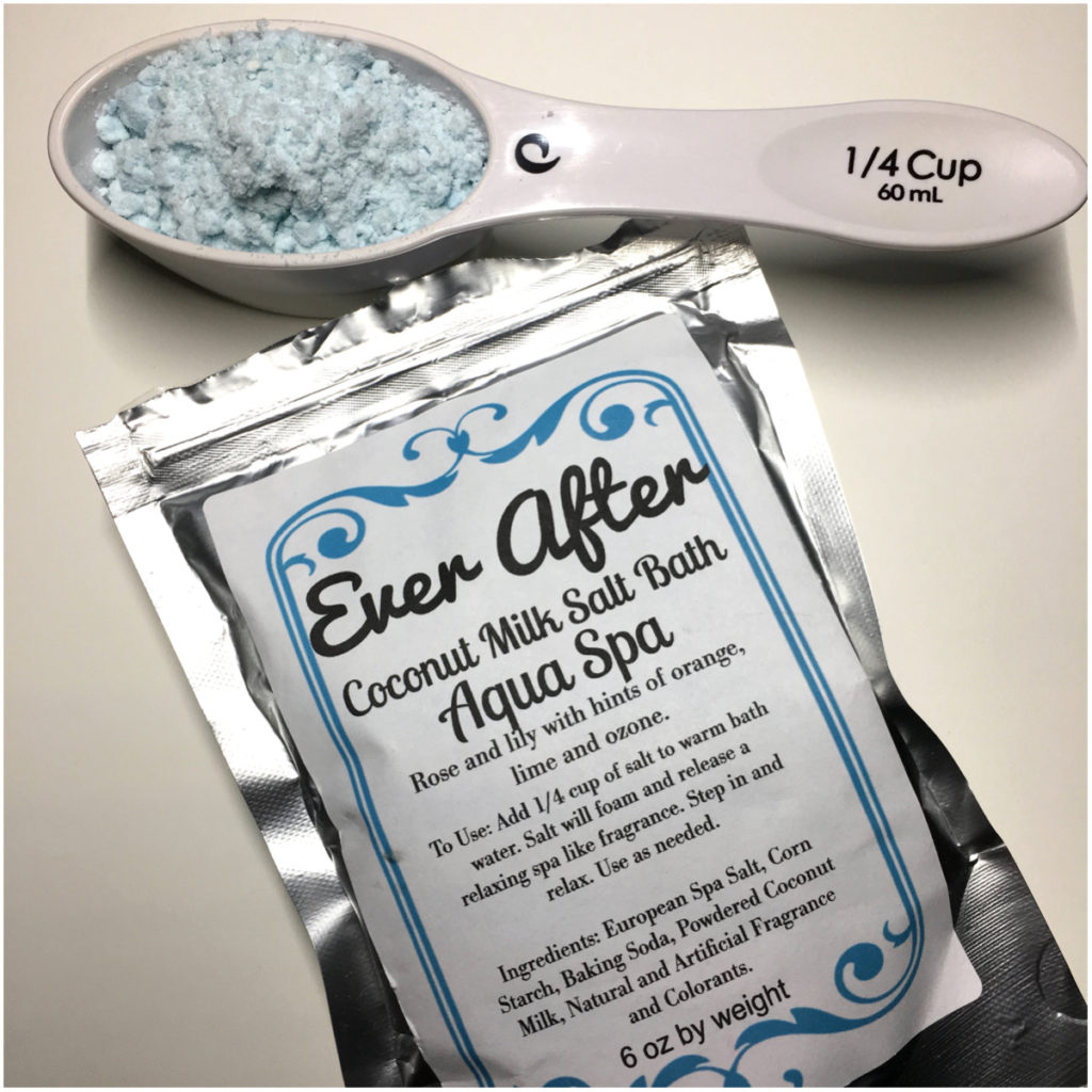 Coconut Milk Salt Bath by Ever After