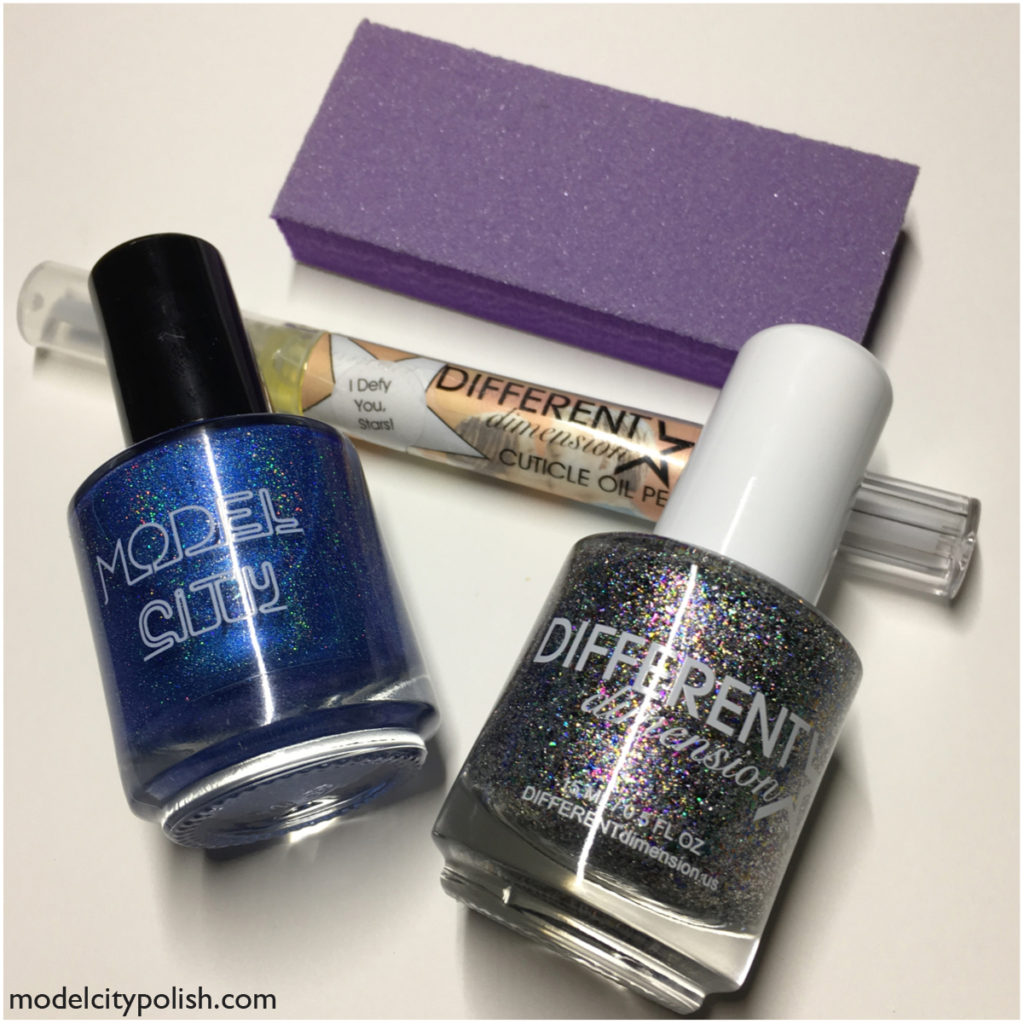 Star Crossed Lovers Box from Different Dimension and Model City Polish