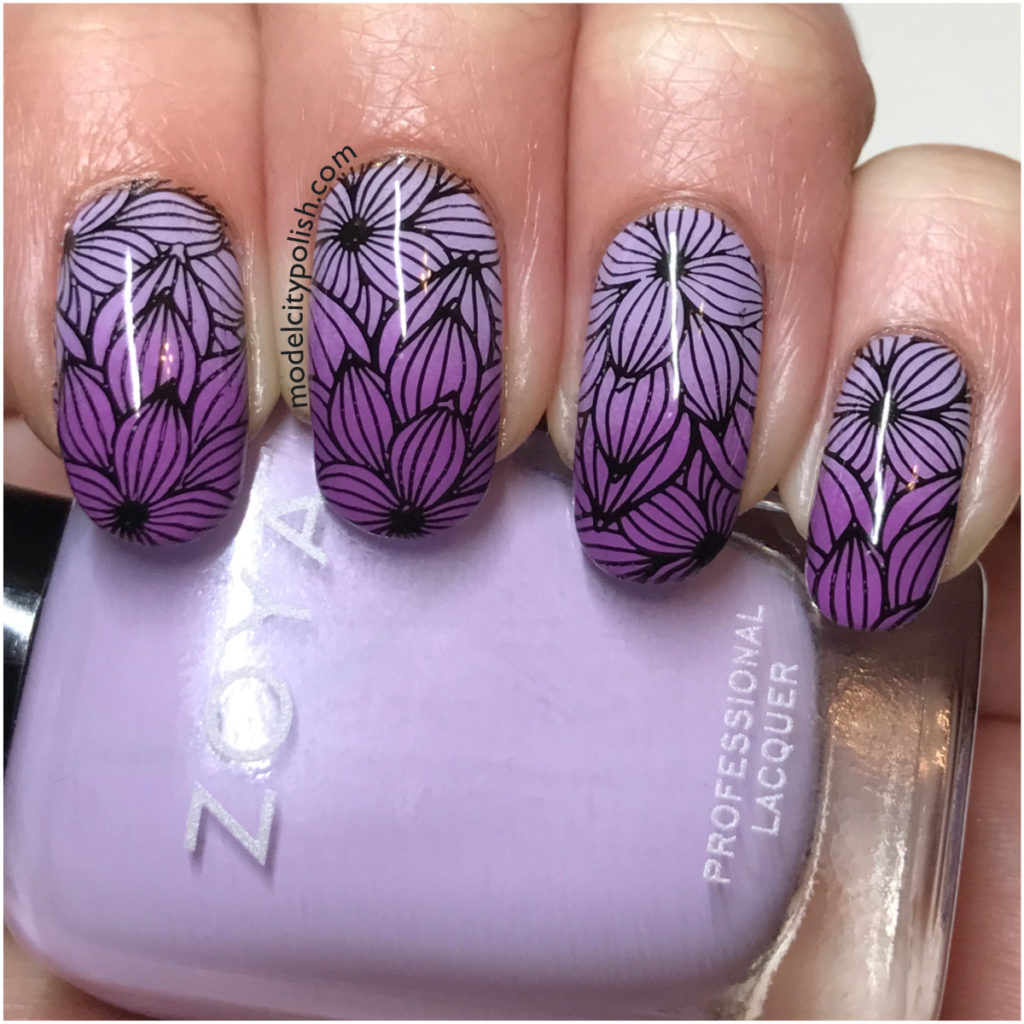 Floral Nails with Zoya and Moyra
