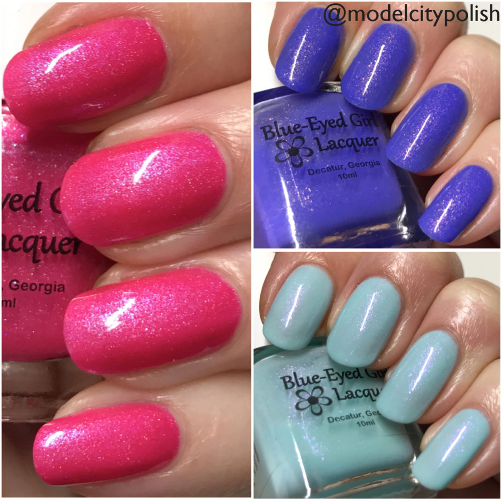 We Saw the Stars Collection by Blue-Eyed Girl Lacquer