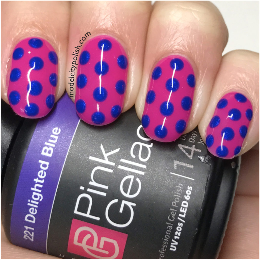Dotticure with Pink Gellac