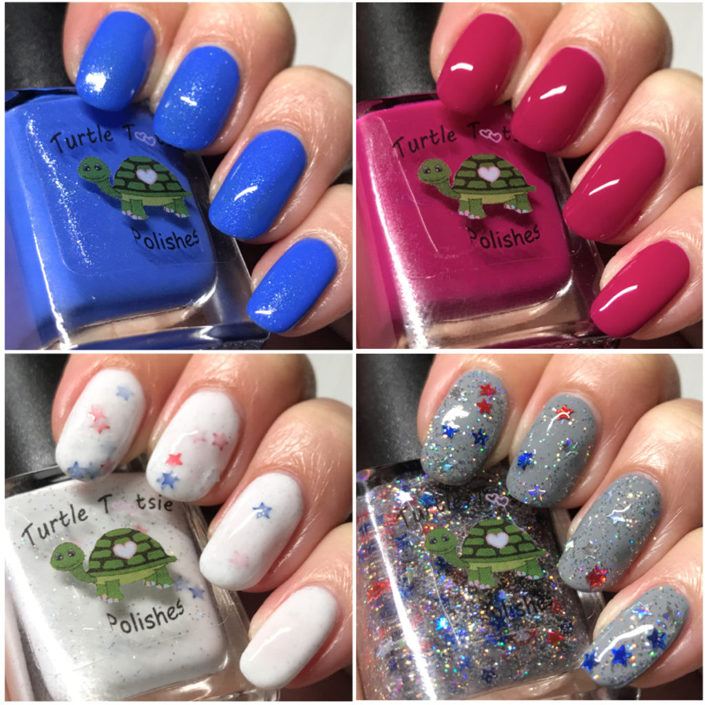4th of July Quad by Turtle Tootsie Polishes