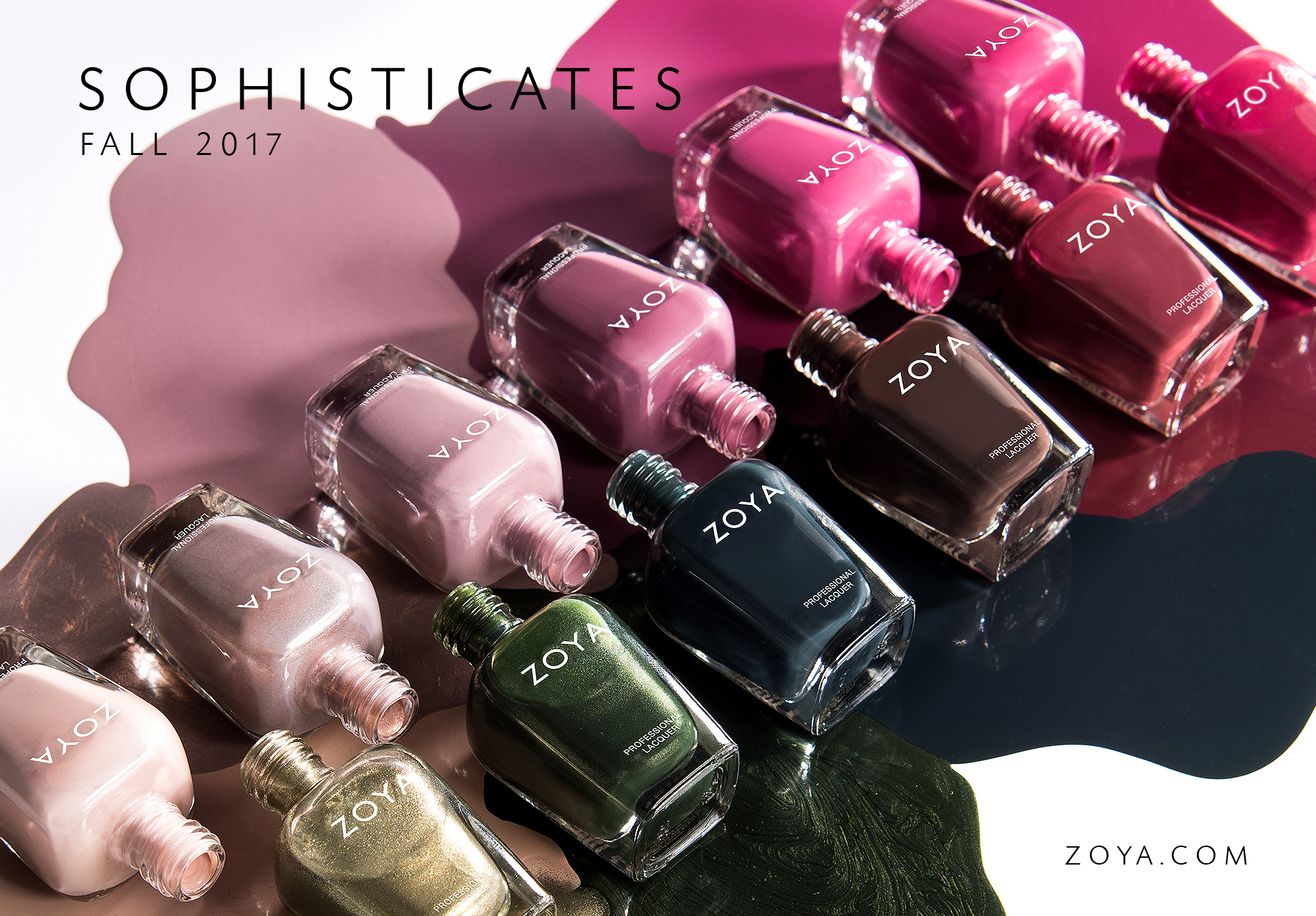 Sophisticates collection by zoya model city polish sophisticates collection by zoya reheart Choice Image